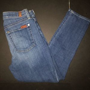 7 For All Mankind The Capri women's size 27